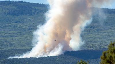 Grand Mesa Fire 6/11/20