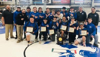 Cedaredge High School wins regional wrestling title