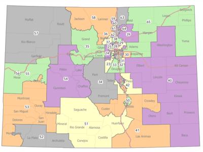 Colorado Legislative Map -House