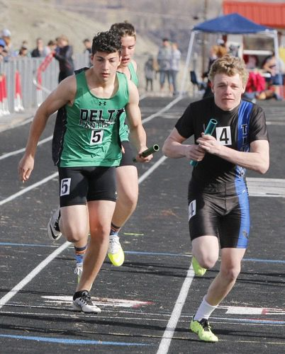 Panther boys track team scores 72 points