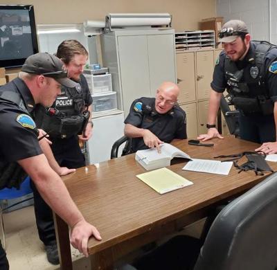 Cedaredge Police old stock
