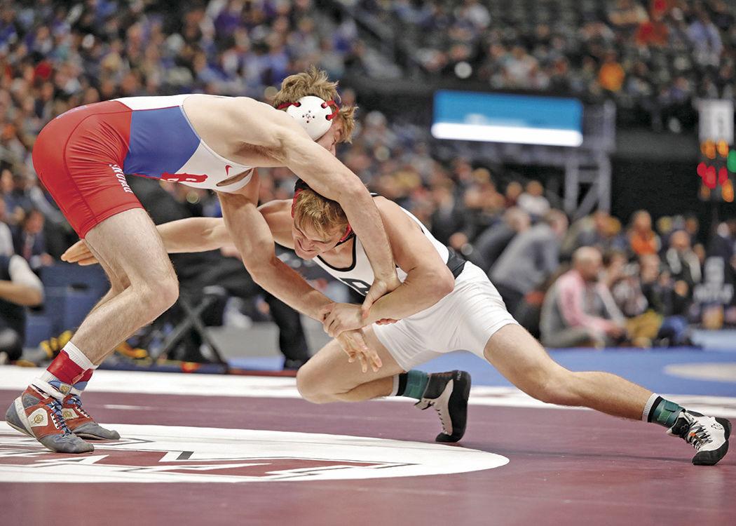 2020 state wrestling_Neal 160 title match v BV