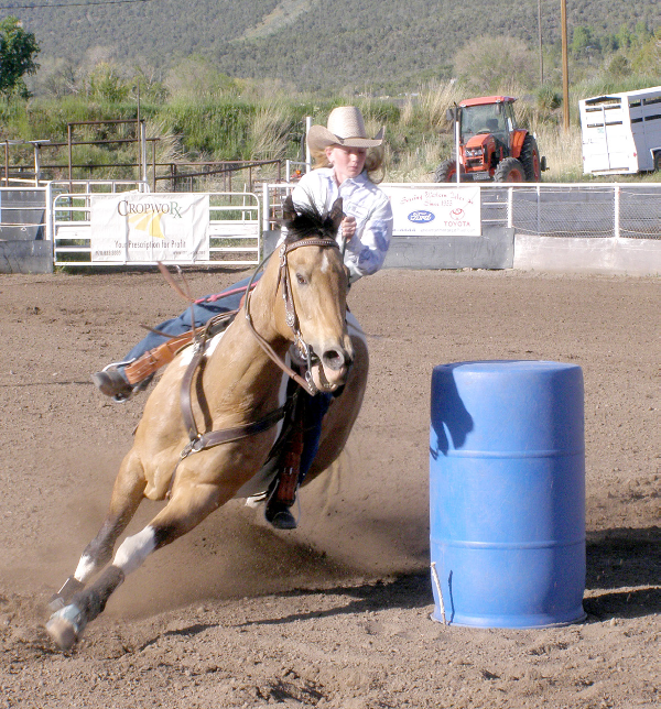 Little Britches action this week in Cedaredge