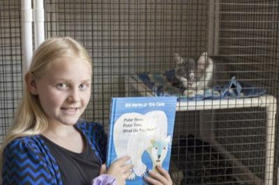 Summer Reading goes to the dogs (and cats)