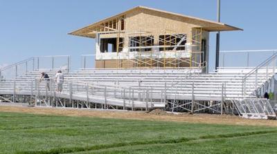 Cedaredge High School football stadium improved