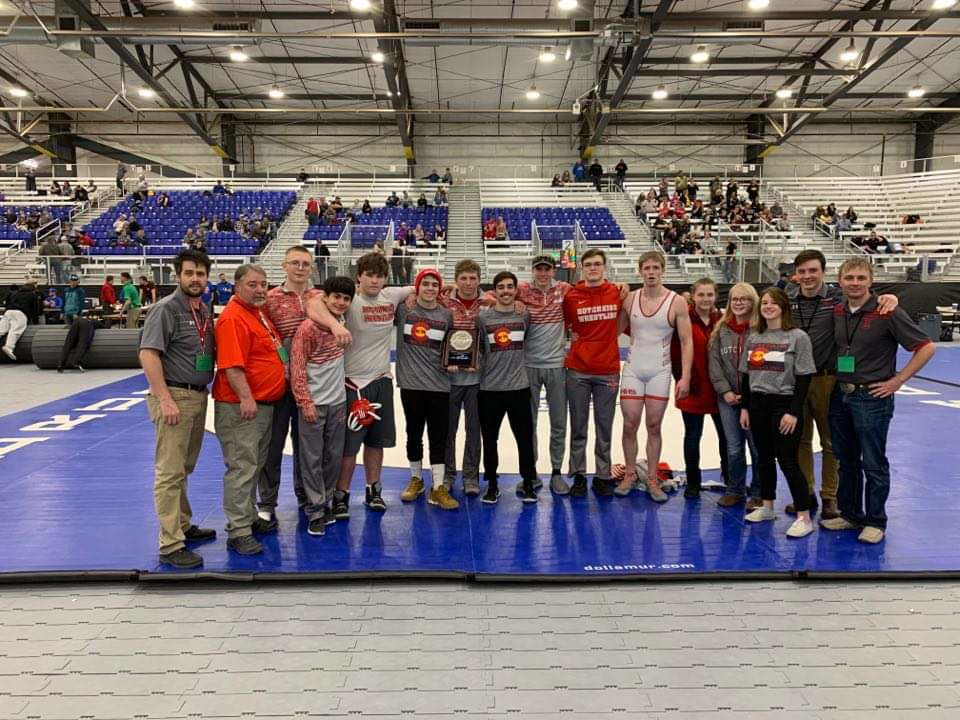 Hotchkiss Bulldogs second at regional wrestling