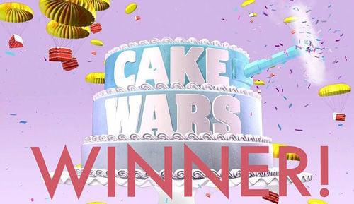 Cake Wars Winner!