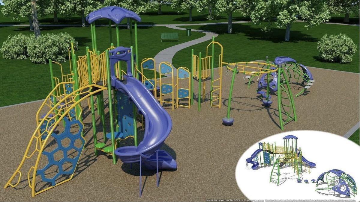 Cedaredge Town Park Playground model
