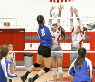 Hotchkiss playing solid volleyball this season