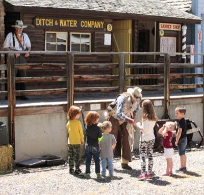 Pioneer Town opens with Heritage Day