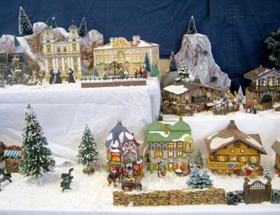 Holiday village provides inspiration for writing contest