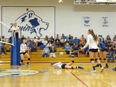 Cedaredge High School volleyball
