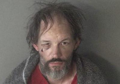 Christopher Tiffany photo taken after arrest in West Endover, Nevada