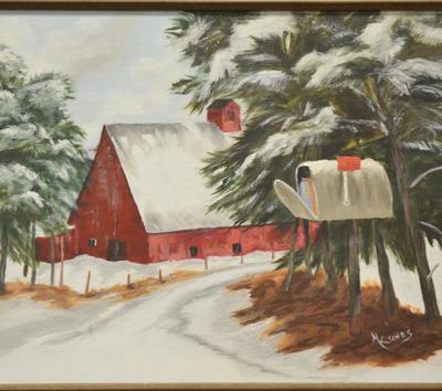 Delta Senior Center displays works of Marcella Kunes