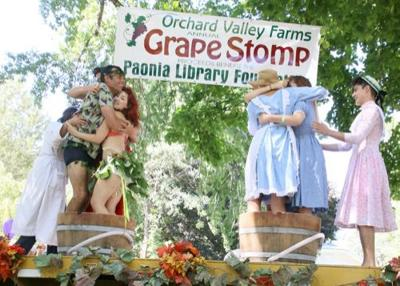 Grape Stomp benefits three nonprofits