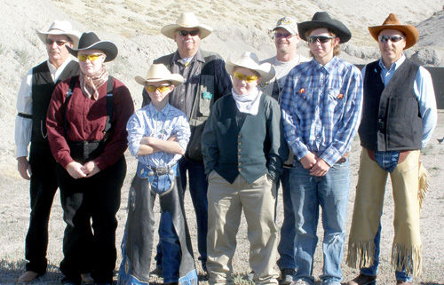 Shooting competition captures the Old West