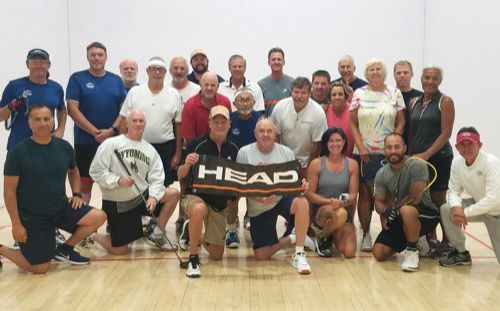 Eighth year for racquetball and golf tournament