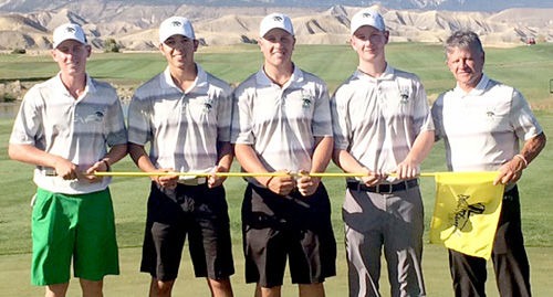 DHS golf team 7th in 3A