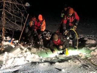 Rescue teams recover two bodies from Island Lake