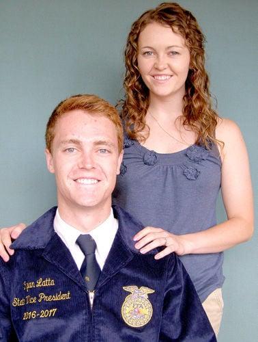 Rachel, Ryan Latta earn FFA state offices
