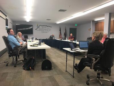 Cedaredge Board of Trustees - pot talk