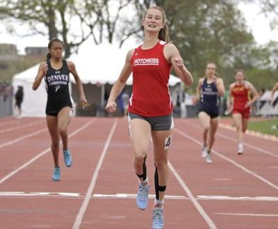 Firor showcases her talent in 2A track