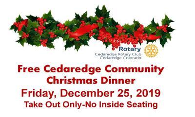 Community Christmas Dinner graphic