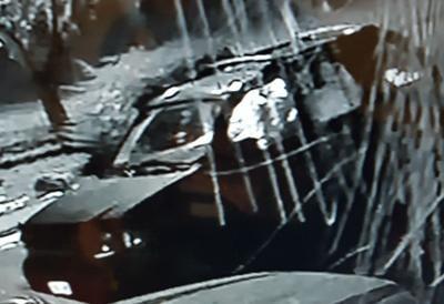 SUV of suspect