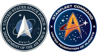 Space Force logo tweeted by Trump bears uncanny resemblance to 'Star Trek' insignia