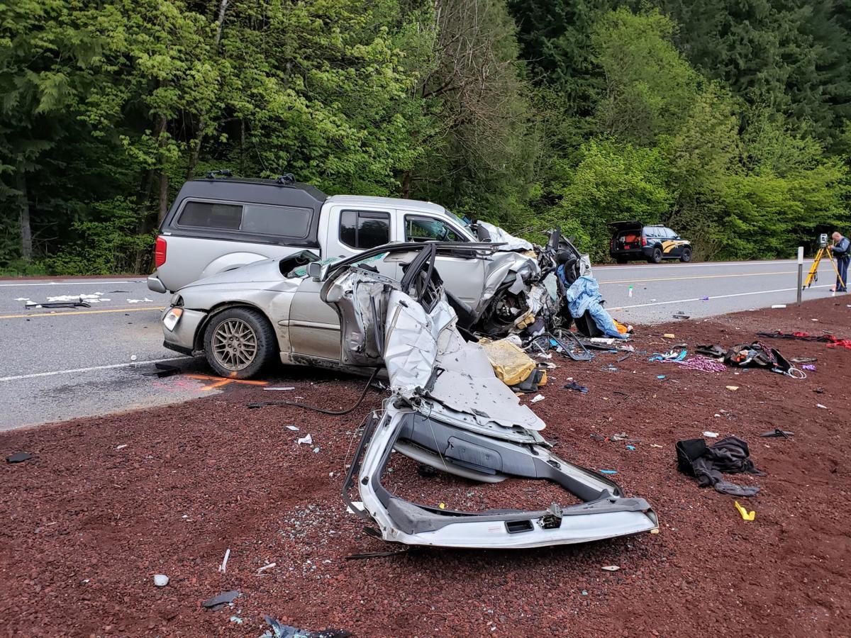 Highway 22E crash near Idanha