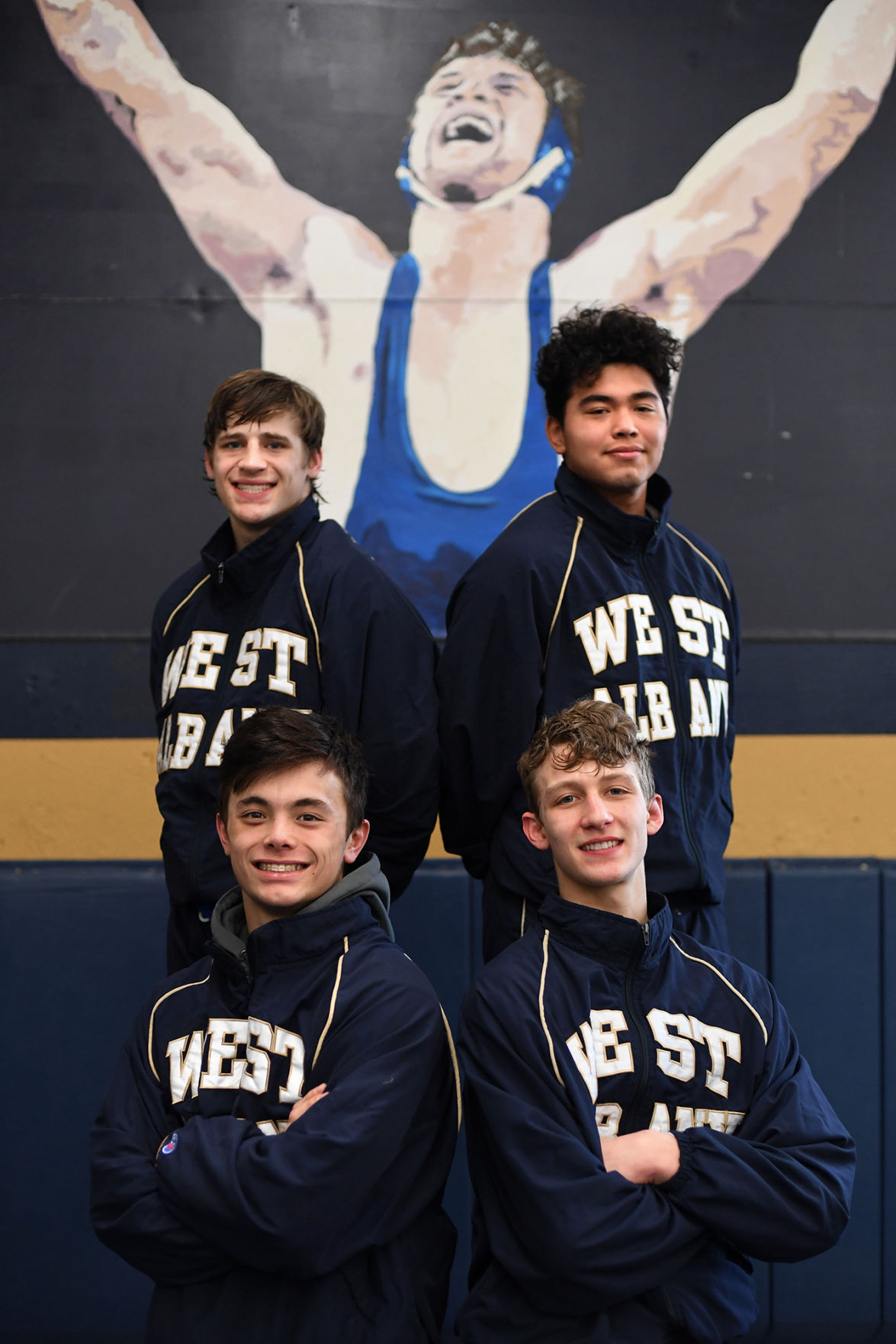 West Albany wrestling