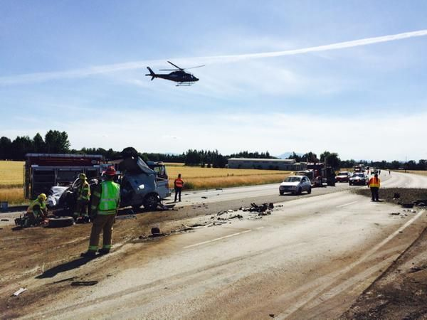 Two killed in wreck on Highway 34 west of Tangent | Local
