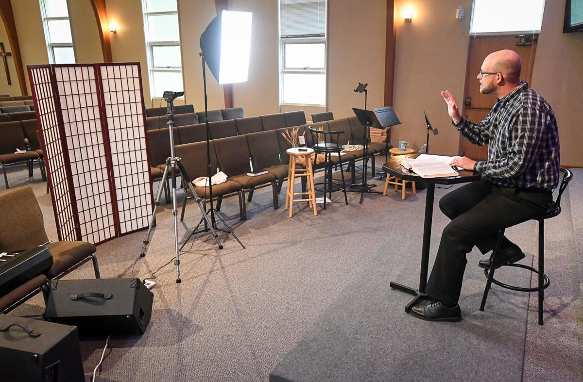 Recording Sunday Service 01