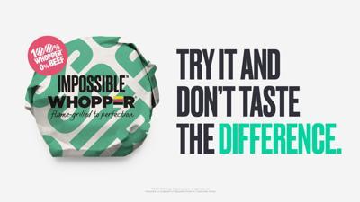 Burger King Impossible Burger