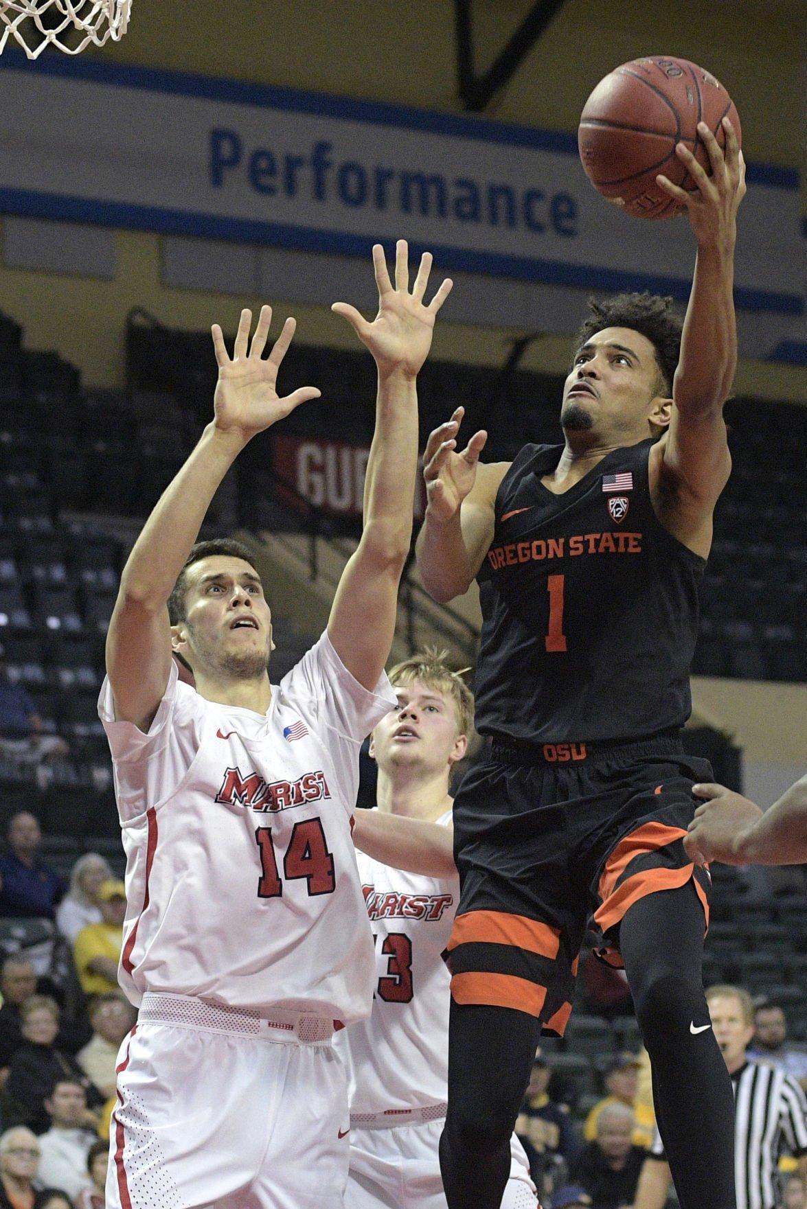 Oregon St Marist Basketball