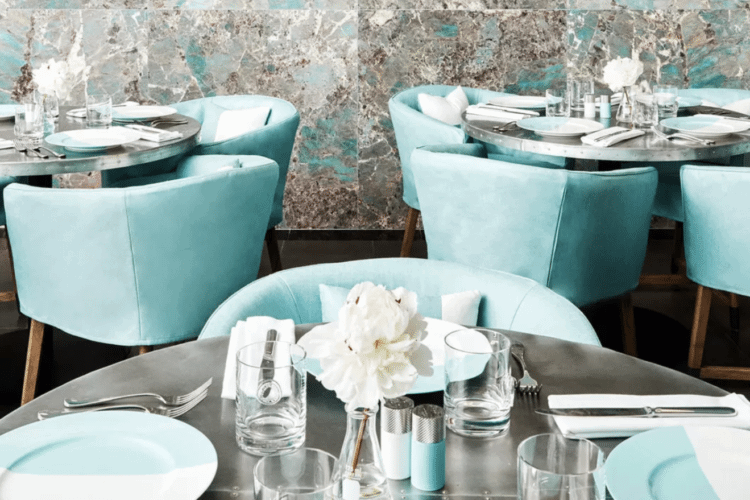 Tiffany's Opened A Cafe, So You Can Literally Eat Breakfast At Tiffany's Now