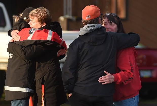 South Albany Fire hugs