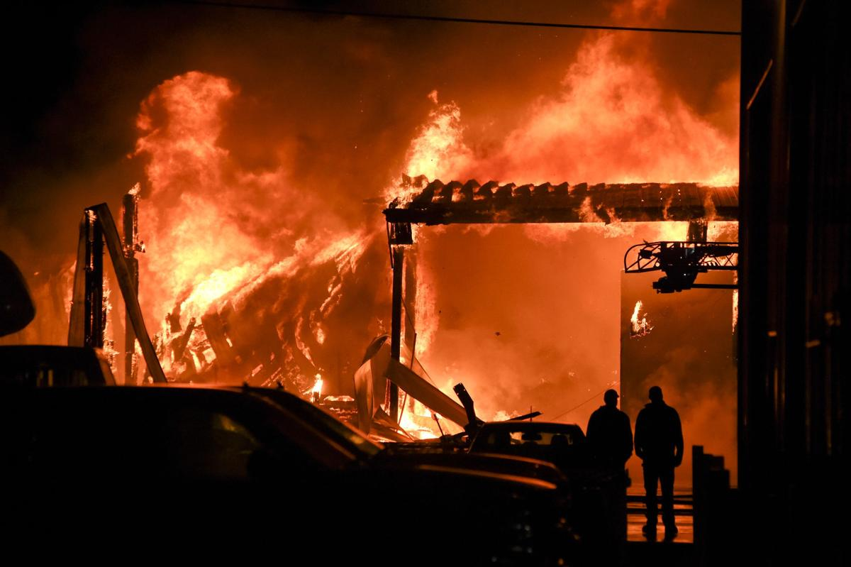Oregon Powder Coating Fire