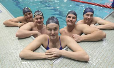 West swimmers