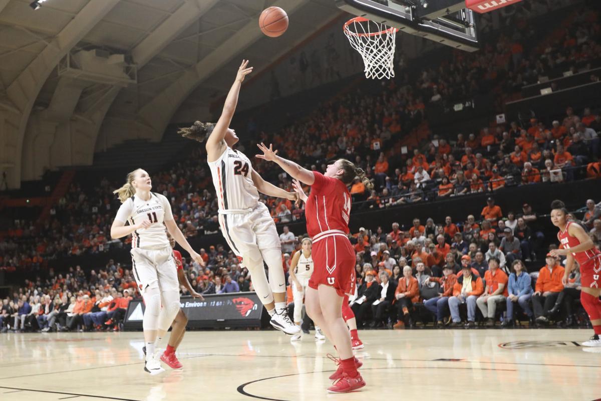 Oregon State vs. Utah Women's Basketball