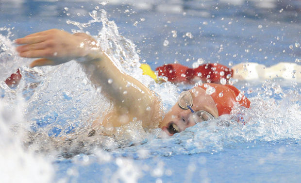 Prep swimming: Lebanon's Maddy Kelly
