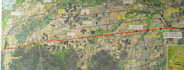 Rail council OKs two alternatives for Portland-Eugene high-speed routes
