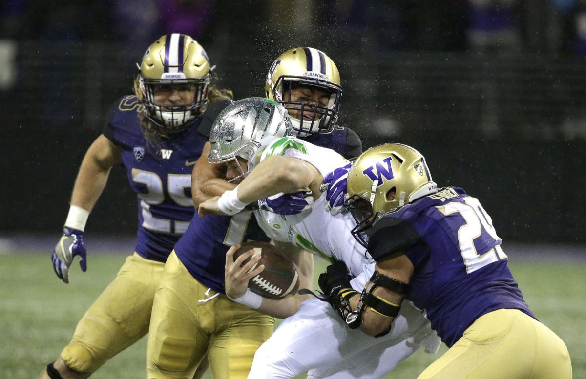 Oregon Washington Football