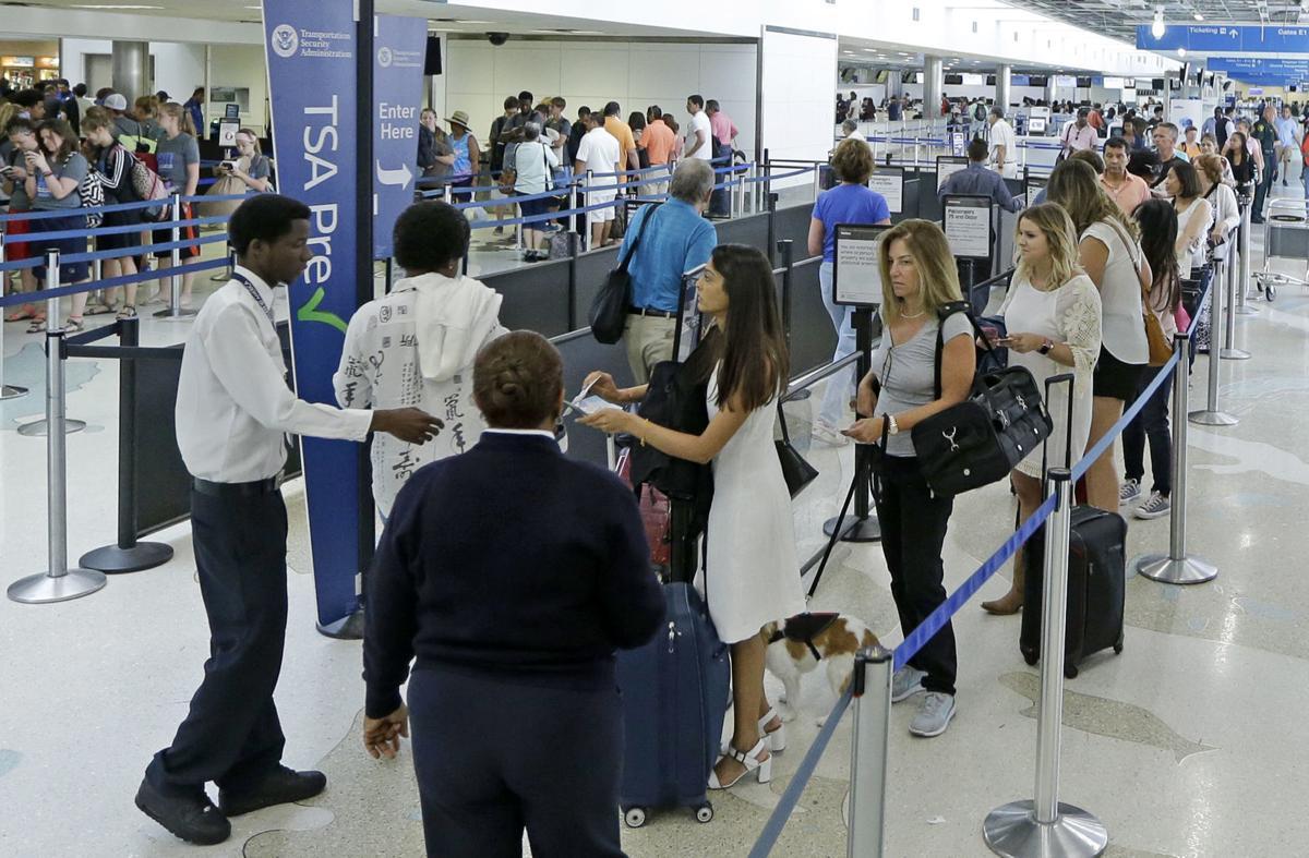 Airport Security Memorial Day Weekend (copy)
