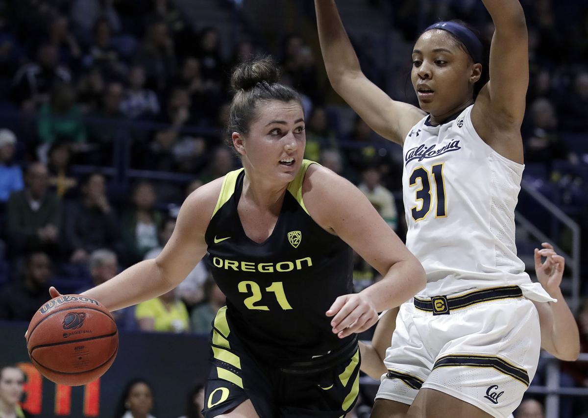 Oregon California Basketball