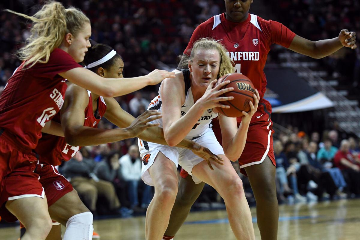 Marie Gulich vs. Stanford in Pac-12 tourney