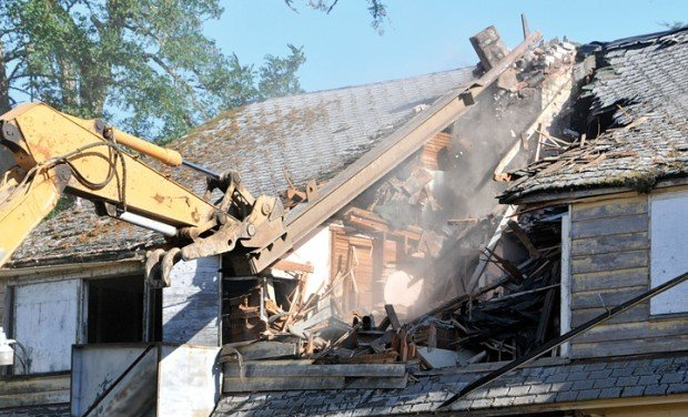 historic cottage torn down at farm home local democratherald com