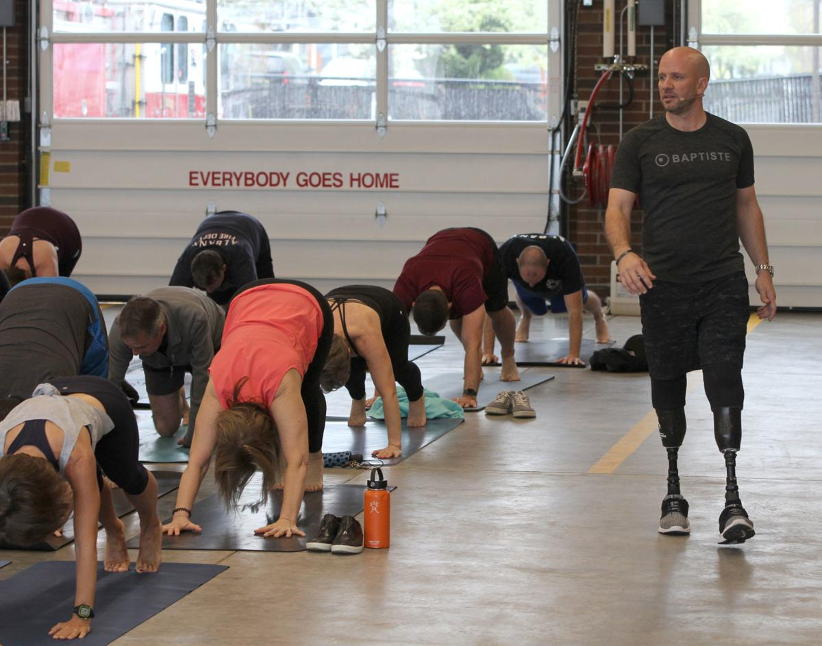 Yoga at the Fire station