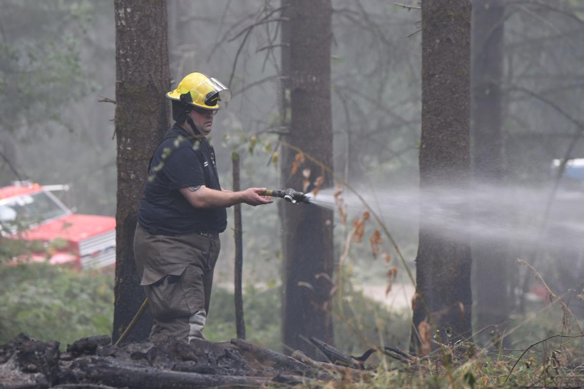 Bush Fire in Sweet Home