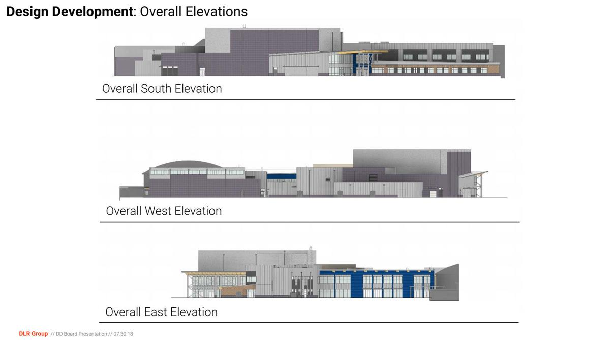 West Albany Elevations